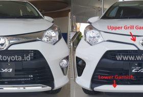 Perbedaan Toyota Calya tipe E dan tipe G
