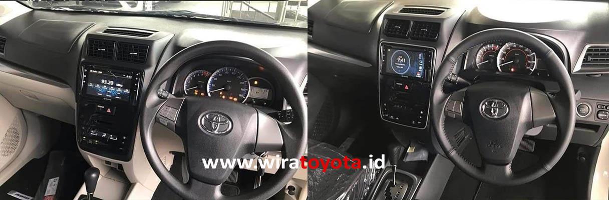 Interior Dashboard Avanza 2019