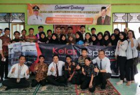 Kelas Inspirasi SMPN 4 Banjarbaru, Senin 28 Oktober 2019